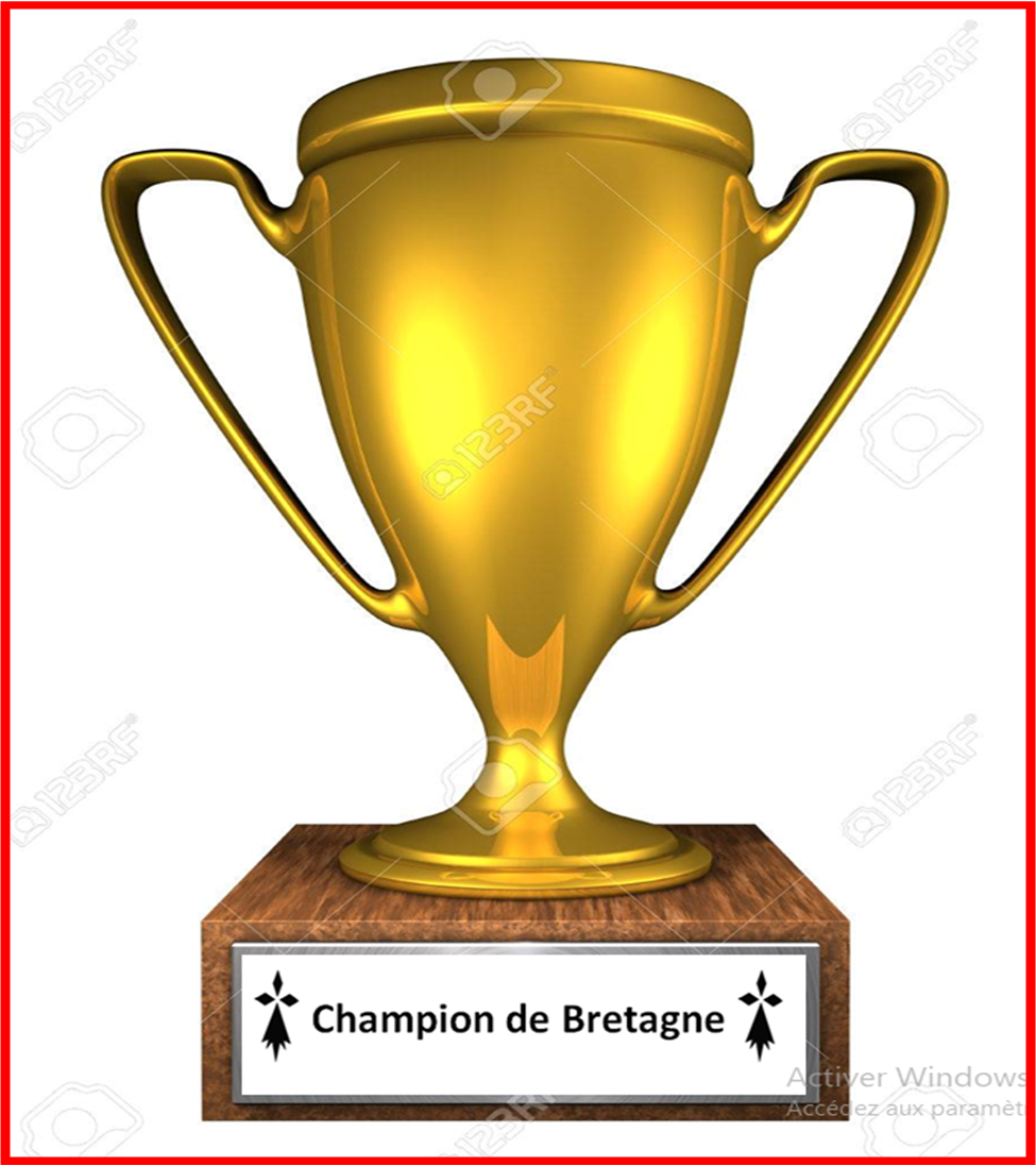 vu Trophé champion bretagne